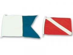 Banderas de señalización de submarinistas