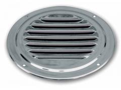 Rejillas redondas de aireación inox