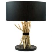 Lámpara de sobremesa, redonda 48 cm