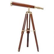 Telescopio madera con pie L: 58 cm - H: 82 cm
