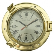 Timón con reloj Ø 22 cm