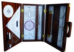 Kit cartografía en estuche madera