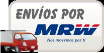 Envíos por MRW.